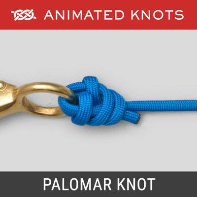 Palomar Knot | Fishing Knots | Animated Knots by Grog
