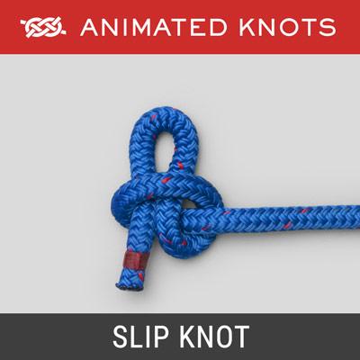 Awe Inspiring Slip Knot How To Tie A Slip Knot Using Step By Step Animations Wiring Cloud Inamadienstapotheekhoekschewaardnl